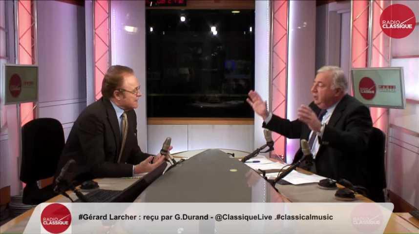 """Illustration pour la vidéo """"j'ai toujours considéré que le centre a vocation à faire partie de la majorité gouvernementale"""" Gérard Larcher (28/11/2016)"""
