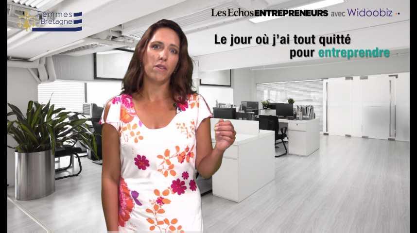 Illustration pour la vidéo Le jour où j'ai démissionné, par Fabienne Mazé, de Shopus