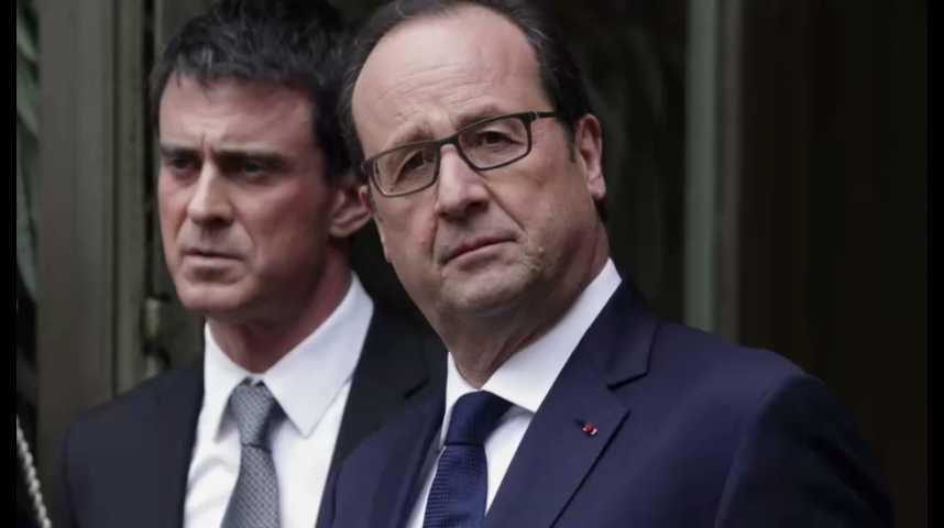 Illustration pour la vidéo Comprendre la guerre Valls-Hollande en 1 minute
