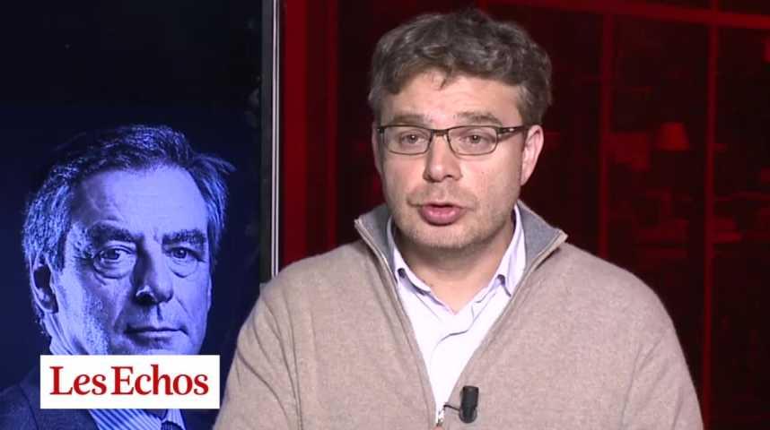 Illustration pour la vidéo Primaire à droite : Fillon dans une dynamique politique extrêmement forte pour la présidentielle et face au FN