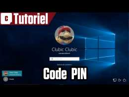 Tuto Windows 10 : remplacer son mot de passe par un code PIN