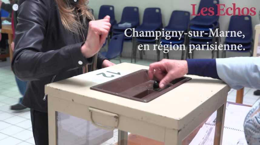 Illustration pour la vidéo Les petites mains du bureau de vote