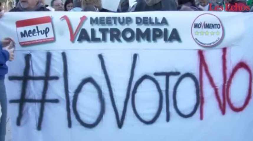 Illustration pour la vidéo Italie : cinq questions sur le référendum constitutionnel de dimanche