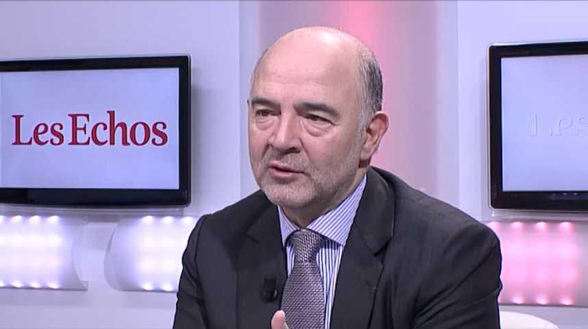 """Illustration pour la vidéo Pierre Moscovici : """"La règle des 3%, je souhaite qu'on la respecte"""""""