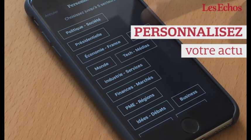 Illustration pour la vidéo Découvrez la nouvelle application mobile des Echos