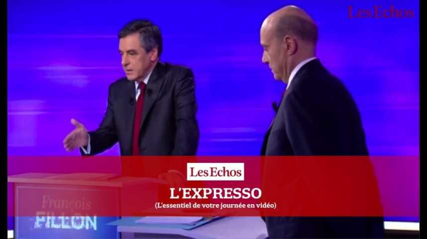 Illustration pour la vidéo Primaire : François Fillon et Alain Juppé entrent dans la dernière ligne droite...