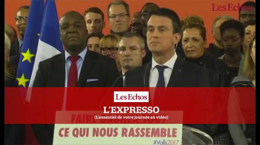 Illustration pour la vidéo Valls désormais candidat, la primaire de la gauche va s'accélérer