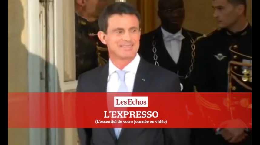 Illustration pour la vidéo Manuel Valls, de Premier ministre au premier meeting