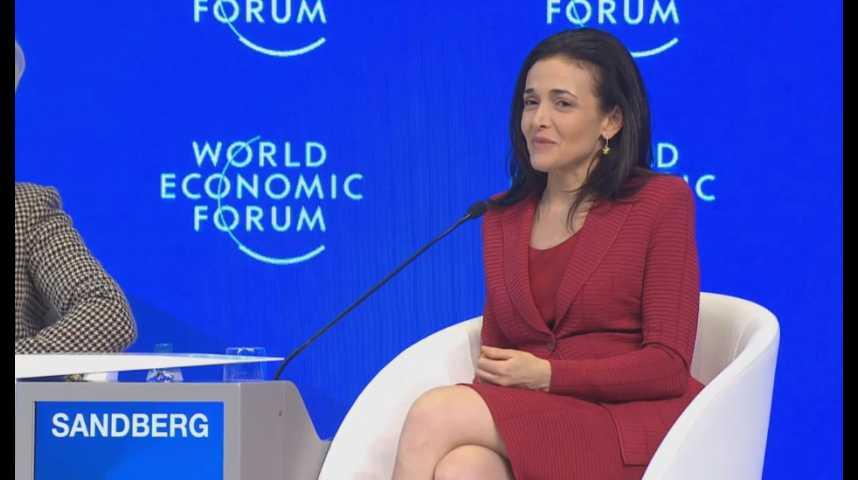 Illustration pour la vidéo Davos 2017 : un discours positif dans un monde incertain (avec Sheryl Sandberg, Christine Lagarde et Meg Whitman)
