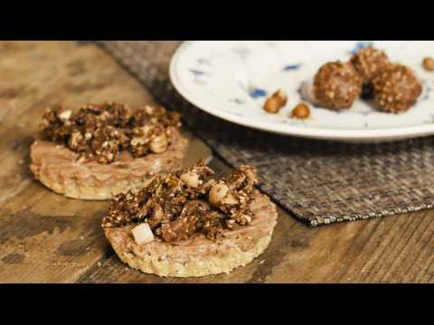 10-minute chocolate and hazelnut no-bake cheesecake recipe