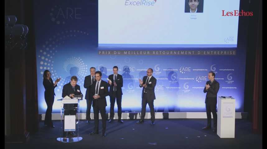 Illustration pour la vidéo Prix Ulysse de l'ARE : Excelrise et le Groupe Loret récompensés
