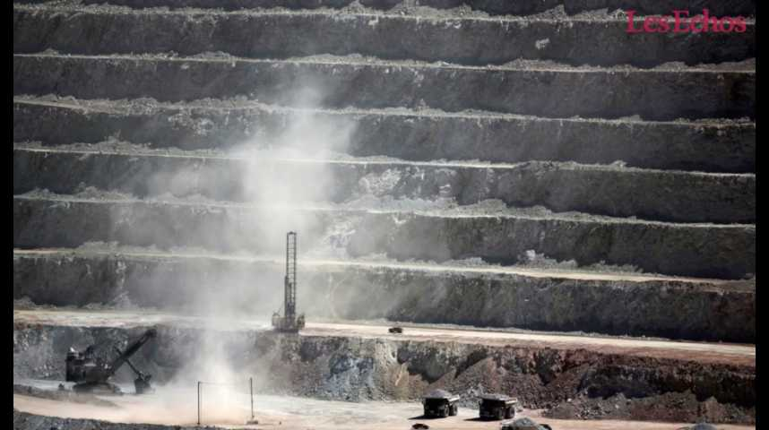 Illustration pour la vidéo Cette grève qui menace le marché mondial du cuivre