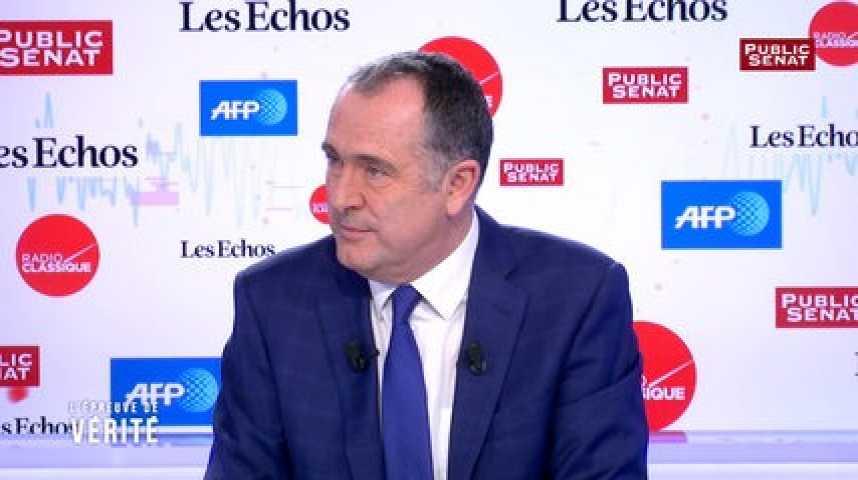 Illustration pour la vidéo Didier Guillaume soutient Benoît Hamon mais n'oublie pas qu'il était« frondeur »