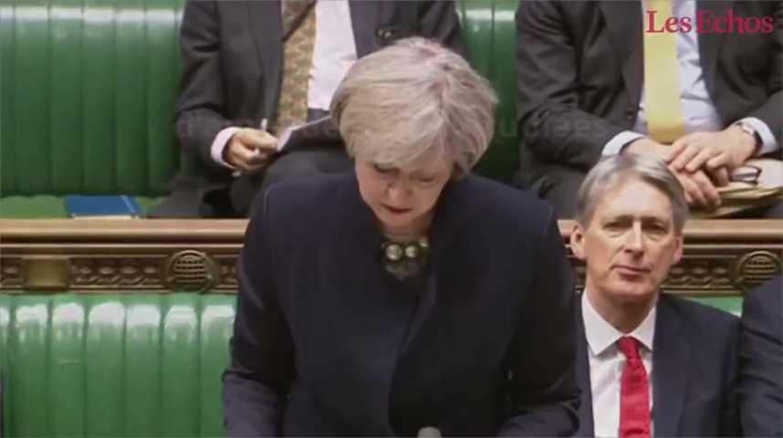 Illustration pour la vidéo Brexit : Theresa May dans l'attente d'un vote crucial du Parlement britannique