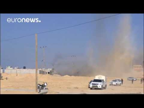 Tensions flare on Israel-Gaza border