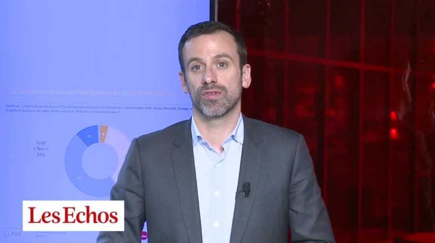 Illustration pour la vidéo 6 Français sur 10 estiment que l'Etat Français n'est pas un bon actionnaire