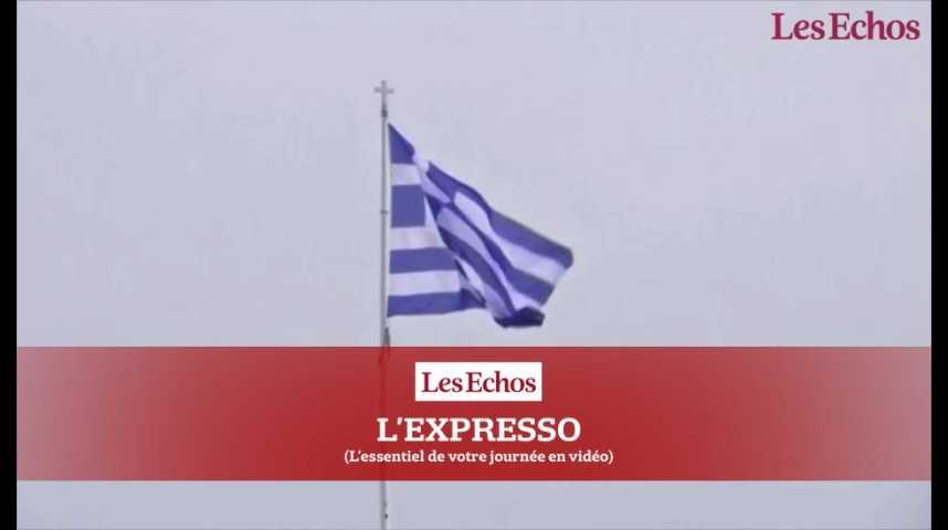 Illustration pour la vidéo Dette grecque : Cazeneuve à Athènes pour avancer sur un accord