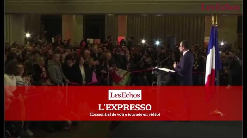 Illustration pour la vidéo Benoît Hamon au Portugal pour donner un nouveau souffle à sa campagne