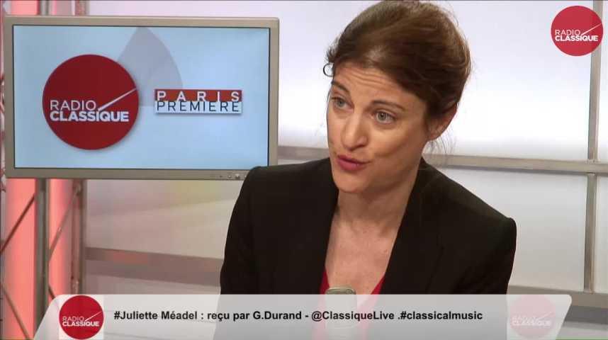 """Illustration pour la vidéo """"Le revenu universel a été largement amendé dans sa mise en oeuvre"""" Juliette Méadel (21/02/2017)"""