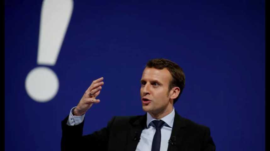 Illustration pour la vidéo Présidentielle 2017 : ce que propose Emmanuel Macron sur l'emploi et la fiscalité