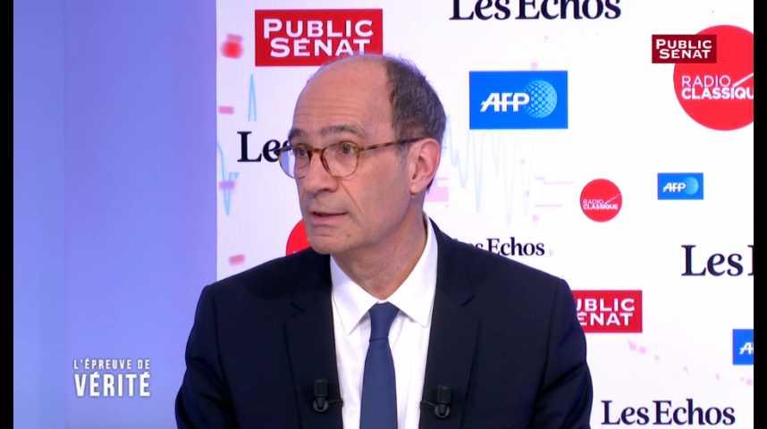 Illustration pour la vidéo Eric Woerth : « Qu'a apporté François Bayrou à la vie politique française toutes ces années ? »