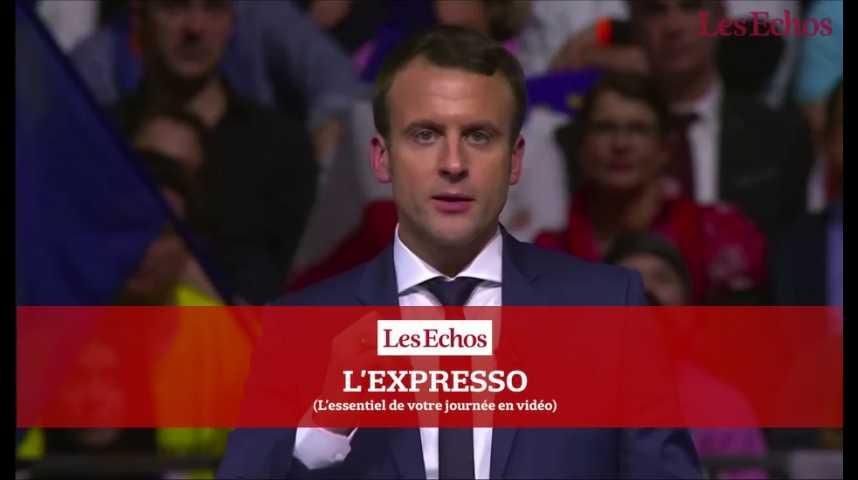 Illustration pour la vidéo Salon de l'Agriculture, projet économique d'Emmanuel Macron...