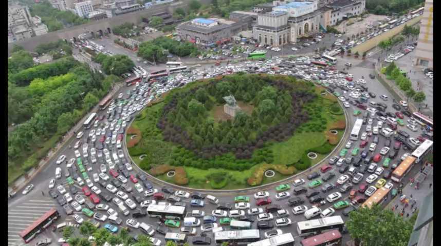 Illustration pour la vidéo Le top 10 des villes les plus embouteillées du monde