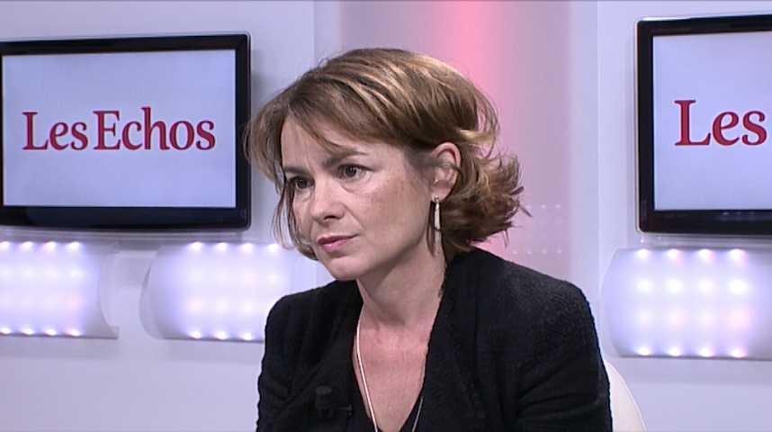 Illustration pour la vidéo L'Invitée des Echos : Mari-Noëlle Jégo-Laveissière, directrice exécutive Innovation chez Orange