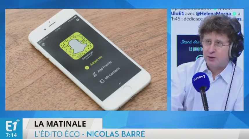 Illustration pour la vidéo Snapchat entre en Bourse !
