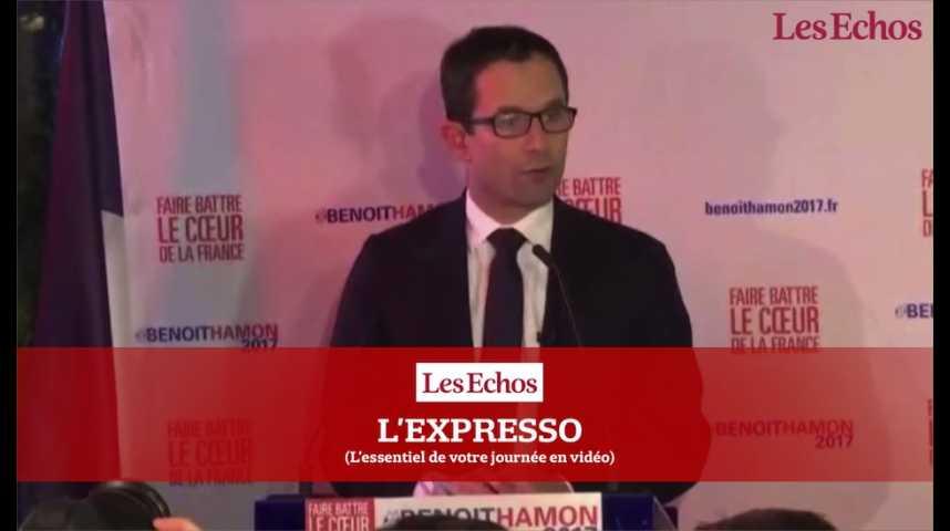 Illustration pour la vidéo Hamon-Valls : une semaine pour convaincre