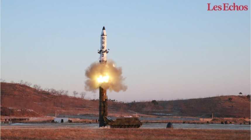 Illustration pour la vidéo Réunion du Conseil de sécurité de l'ONU après le tir de missile nord-coréen