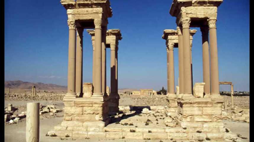 Illustration pour la vidéo Palmyre : nouvelles images russes de destructions