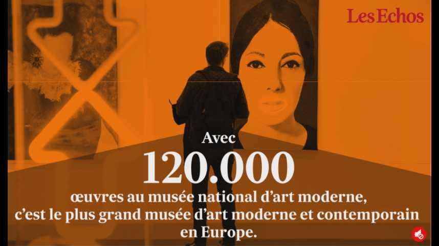 Illustration pour la vidéo Centre Pompidou : 40 ans et des records plein les tuyaux