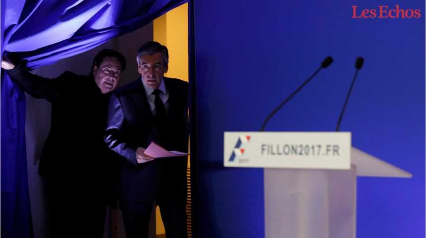 Illustration pour la vidéo La conférence de presse de François Fillon en 10 phrases