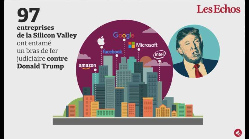 Illustration pour la vidéo Que serait la Silicon Valley sans l'apport des migrants ?