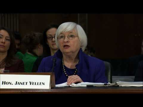 Fed's Yellen says fiscal policy adds 'uncertainty' to outlook