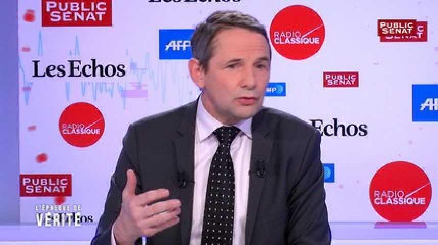 """Illustration pour la vidéo Thierry Mandon :""""Marine Le Pen est dans les mêmes affaires que François Fillon"""""""
