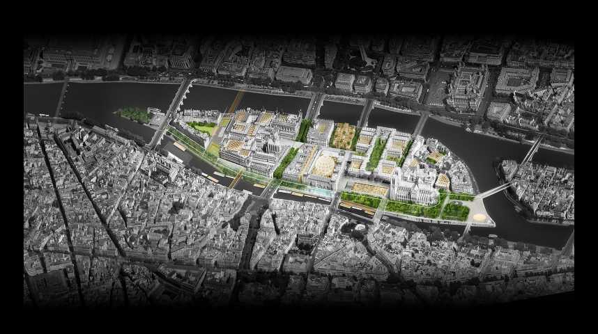 Illustration pour la vidéo Comment l'île de la Cité va se métamorphoser