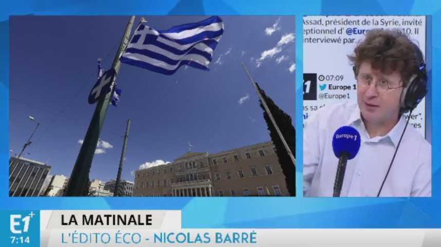 Illustration pour la vidéo Malgré des efforts, la Grèce est toujours au bord de la faillite