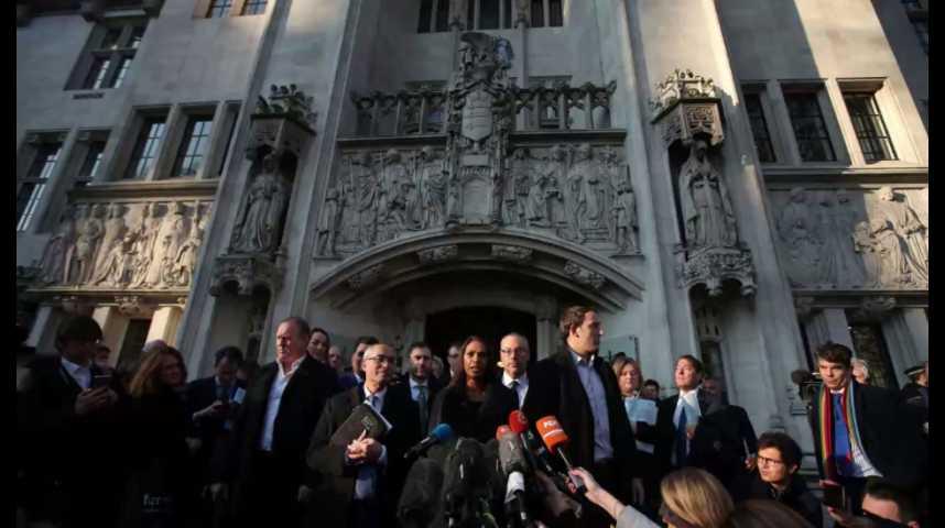 Illustration pour la vidéo Brexit : Theresa May devra obtenir l'aval du Parlement