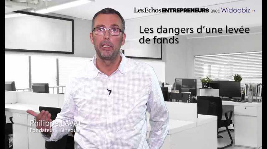 Illustration pour la vidéo Les dangers d'une levée de fonds, par Philippe Laval