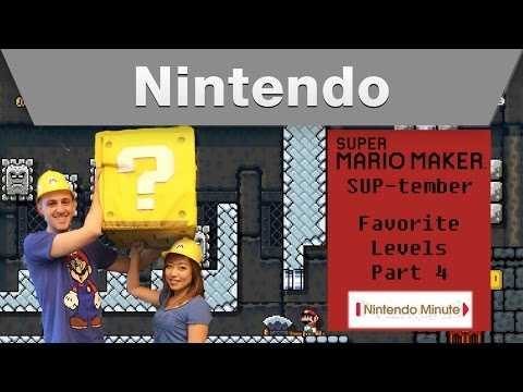Nintendo Minute – Super Mario Maker SUP-tember Favorite Levels Part 4