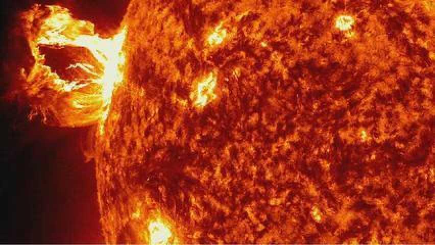 surface du soleil