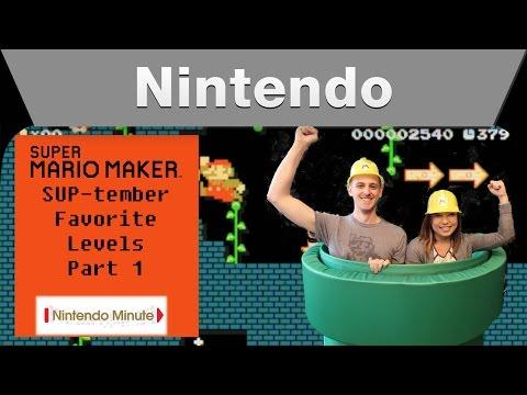 Nintendo Minute – Super Mario Maker SUP-tember Favorite Levels Part 1
