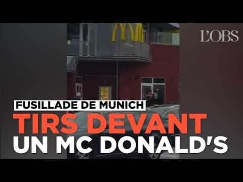Fusillade de Munich : un homme ouvre le feu devant un McDonald's