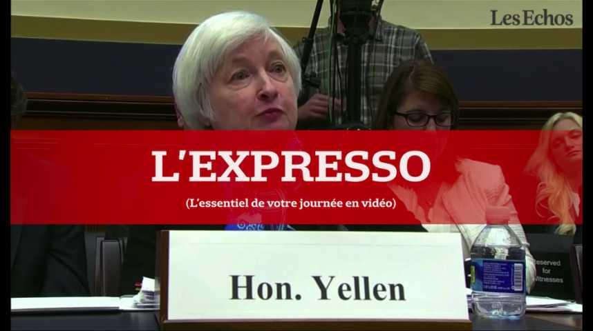 Illustration pour la vidéo L'Expresso du 27 juillet 2016 : annonce de la Fed, croissance britannique...