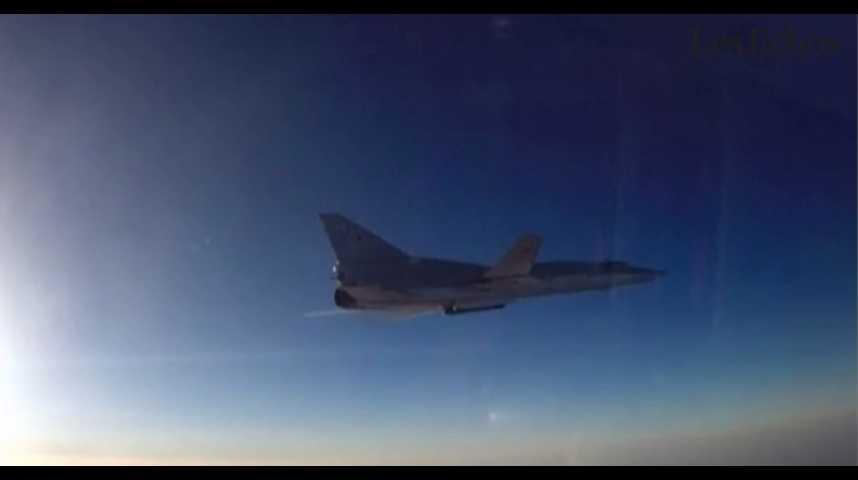 Illustration pour la vidéo Syrie : la Russie mène de nouvelles frappes aériennes