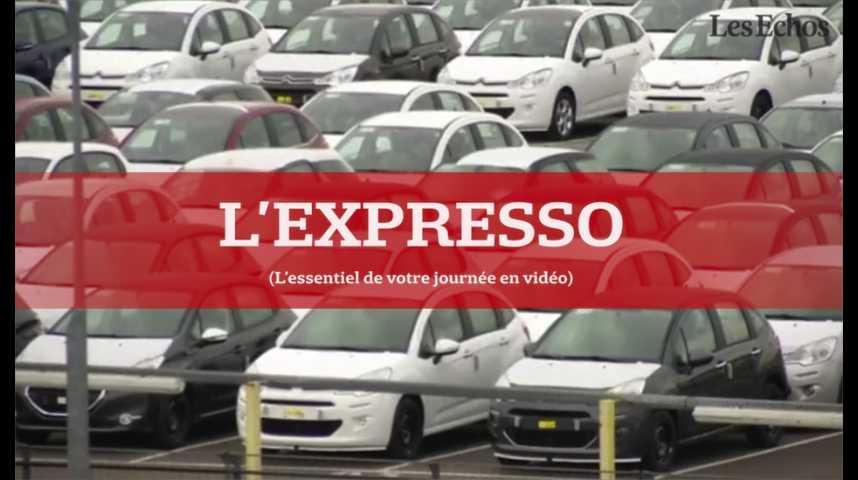 Illustration pour la vidéo L'Expresso du 1er août 2016 : le marché automobile français fera-t-il mieux qu'en juin ?