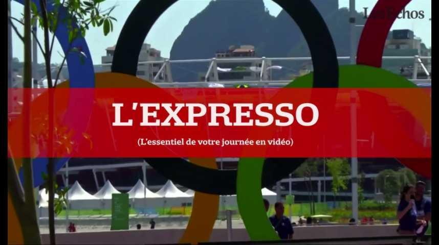Illustration pour la vidéo L'Expresso du 5 août 2016 : coup d'envoi des Jeux Olympiques de Rio de Janeiro...
