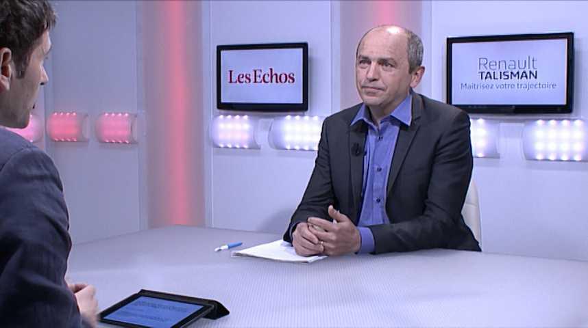 """Illustration pour la vidéo Pierre Larrouturou : """"J'ai du mal à me passionner pour Emmanuel Macron"""""""